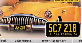 Интернет-магазин автомобильных номерных знаков «License Plates»