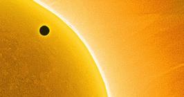 Сайт, посвященный прохождению Венеры по диску Солнца